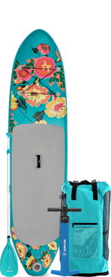 10' FUN FLOWERY Inflatable SUP Package