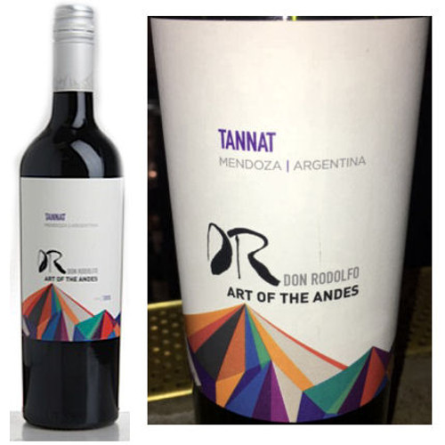 Don Rodolfo Vina Cornejo Costas High Altitude Vineyards Tannat