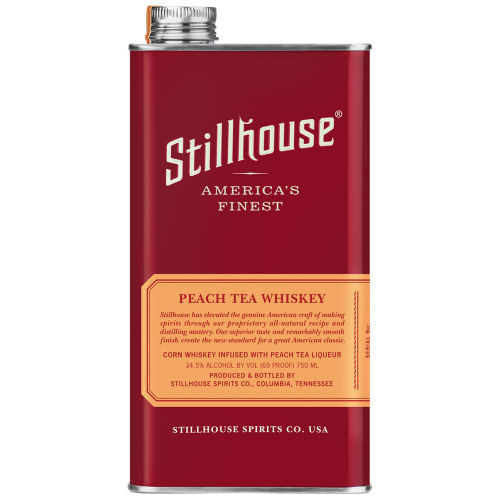 Stillhouse Peach Tea Whiskey 750ml Can