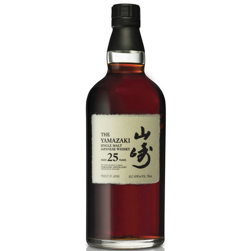 Suntory Yamazaki 25 Year Old Single Malt Japanese Whisky 750ml