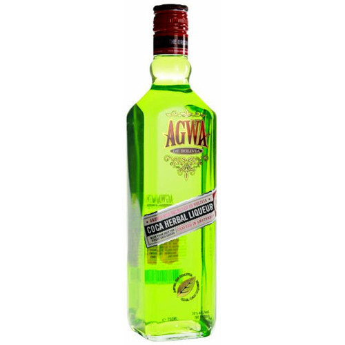 Agwa de Bolivia Coca Herbal Liqueur 750ML