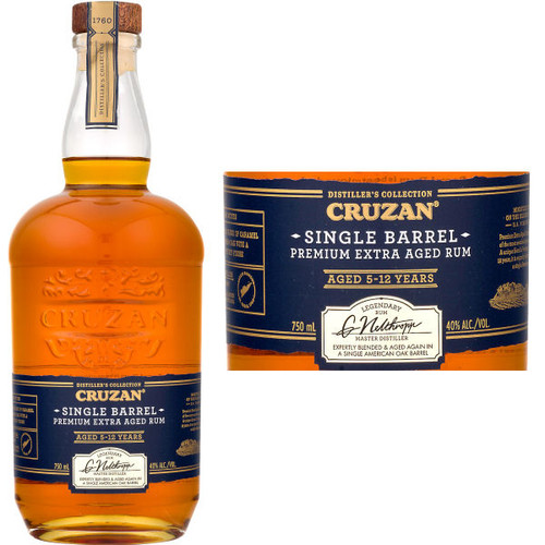 Cruzan Single Barrel Virgin Islands 750ml Rated 92