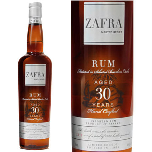 Zafra Master Series 30 Year Old Panama Rum 750ml