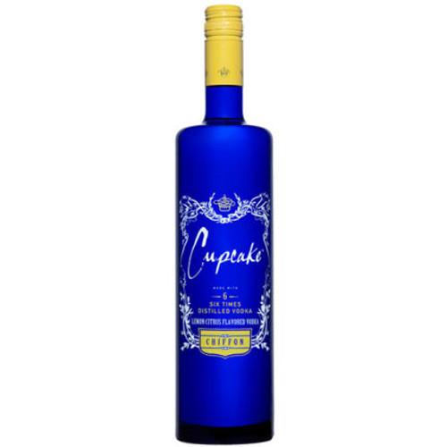 Cupcake Lemon Chiffon Flavored Vodka 750ml