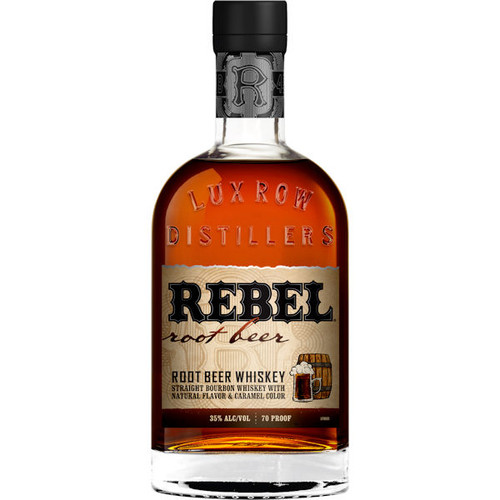 Rebel Yell Straight Bourbon Root Beer Flavored Whiskey 750ml