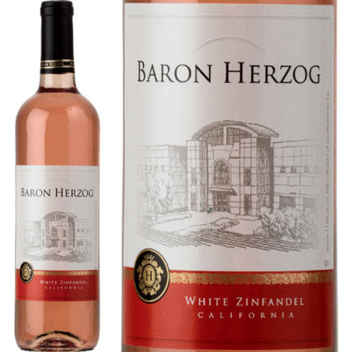 Baron Herzog California White Zinfandel 2015