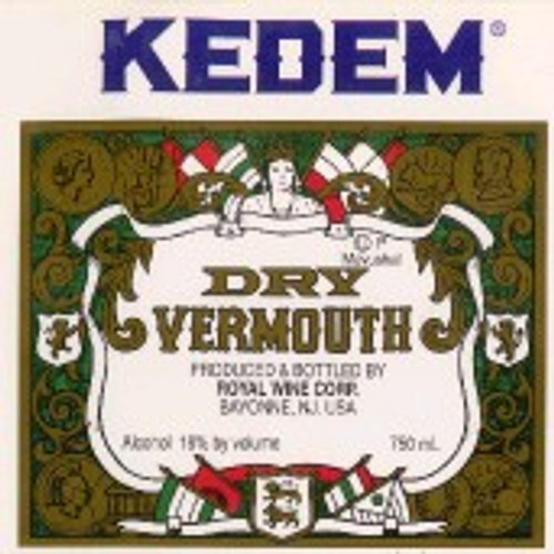 Kedem Dry Vermouth Kosher
