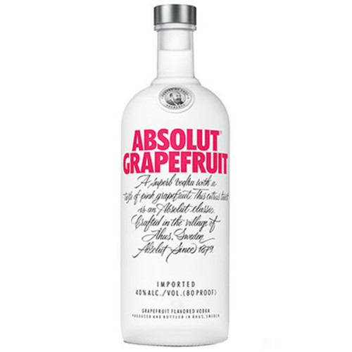 Absolut Ruby Red Swedish Grain Vodka 750ml
