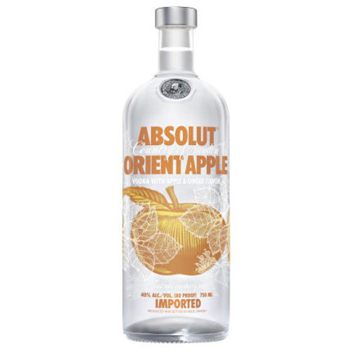 Absolut Orient Apple Swedish Grain Vodka 1L
