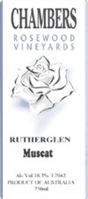 Chambers Rosewood Rutherglen Muscat NV (Australia) 375ML Half Bottle Rated 90WE EDITORS CHOICE