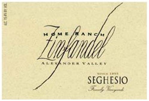 Seghesio Home Ranch Zinfandel