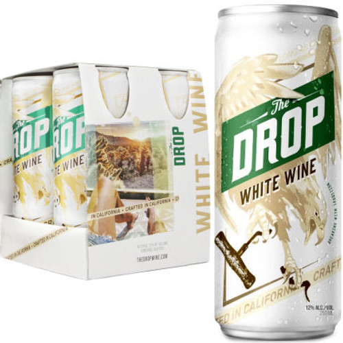 The Drop California White Wine NV 4-250ml Cans