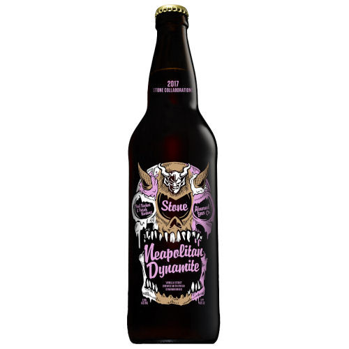 Stone Brewing Abnormal Brewing Neapolitan Dynamite Imperial Stout 22oz