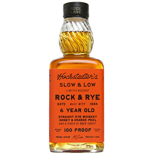 Hochstadter's Slow & Low Limited Release Rock and Rye 6 Year Old Rye Whiskey 750ml