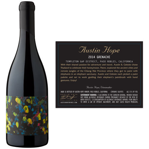 Austin Hope Hope Family Vineyard Paso Robles Grenache