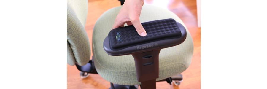 Ultra-Soft Adhesive Gel Armrest Pads - Super Easy Installation - Complete Set Of 2