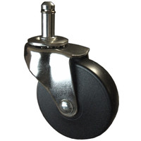 "Customizable Single Wheel Casters - ""Mercury"""