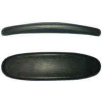 """Sunset"" Office Chair Arm Pads Are 11"" Long With A Concave Support Surface"