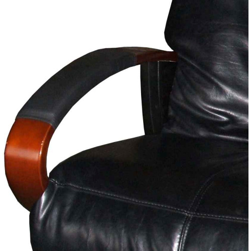 Chair Armrest Covers Installed