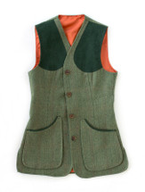 Women's Tweed Shooting Vest