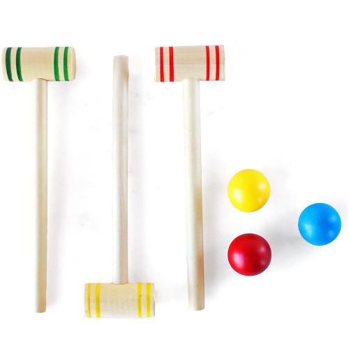travel croquet set - Croquet Set