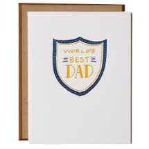 World's Best Dad Greeting Card - Ink Meets Paper