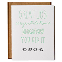 Congrats Graduate Greeting Card - Ink Meets Paper