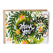 Thank You Greeting Card - Thimblepress