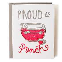 Proud as Punch Greeting Card - Belle & Union