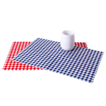 Tear-Off Gingham Place Mats