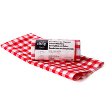Tear-Off Gingham Cocktail Napkins