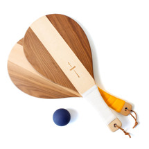 Color-Blocked Beach Racket Set