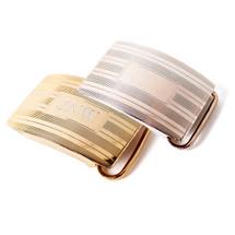 Sterling Silver Slide Belt Buckle