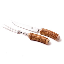 Antler-Horn Carving Set