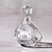 Crystal Labrador Decanter by Julie Wear