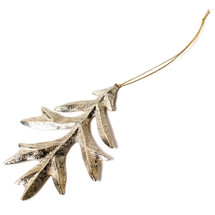 Oak Leaf Ornament by Gogo Jewelry