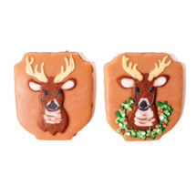 Deer Mount Cookies by Savage's Bakery