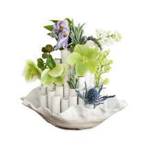 Coastal Vase & Stems