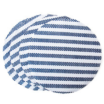 Woven Striped Place Mat Set