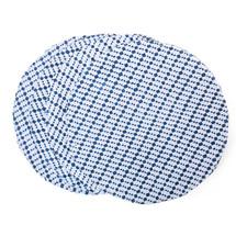 Woven Checkered Place Mat Set