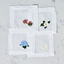 Southern Floral Cocktail Napkins by Lettermade Designs