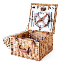 English-Style Picnic Basket