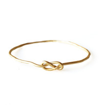 Knot Bangle by Christina Jervey