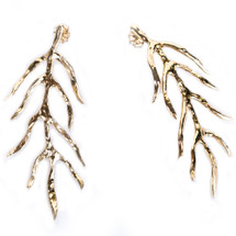 Feather Earrings by Christina Jervey
