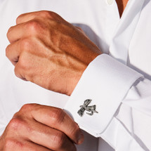 Fly Cuff Links by Grainger McKoy