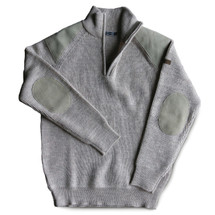 Classic Wool Half-Zip Shooting Sweater