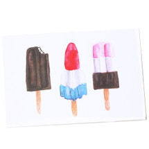 Popsicle Greeting Card - Thimblepress