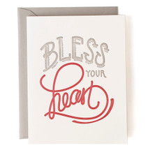 Bless Your Heart Greeting Card - Belle & Union
