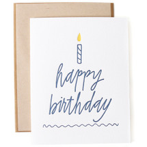 Happy Birthday Cake Greeting Card - Ink Meets Paper