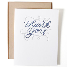 Thank You Greeting Card - Ink Meets Paper